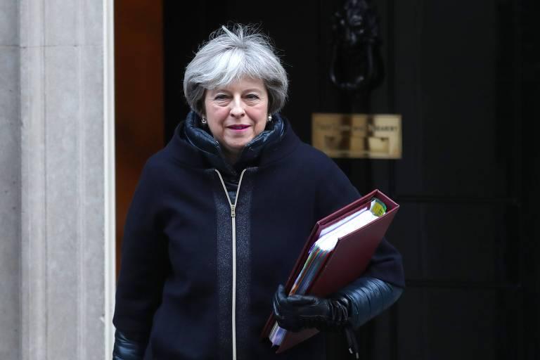 A premi� brit�nica, Theresa May