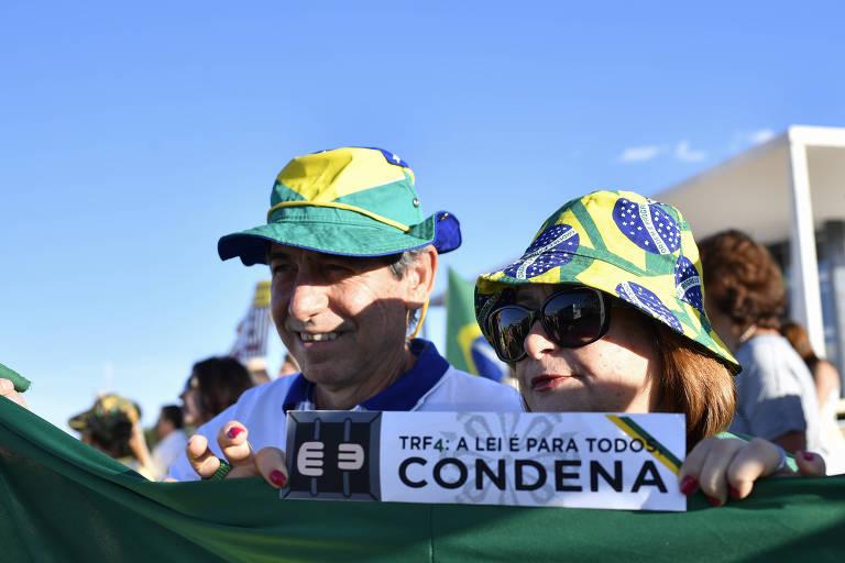 Ato 'Vem pra Rua' em oposição a Lula