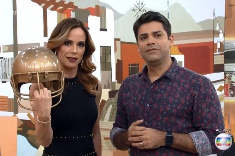 """Ana Furtado e Lair Rennó brincam com """"trombada"""" de Marcelo Adnet"""
