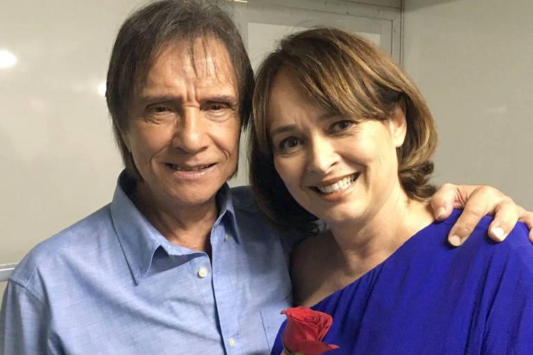 Myriam Rios e Roberto Carlos