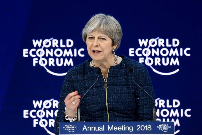Quem participou de Davos em 2018?