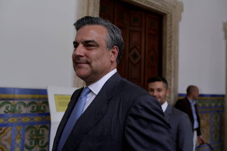 O embaixador da Espanha na Venezuela, Jes�s Silva, em Caracas