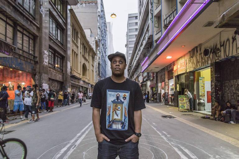 O rapper paulistano Kamau