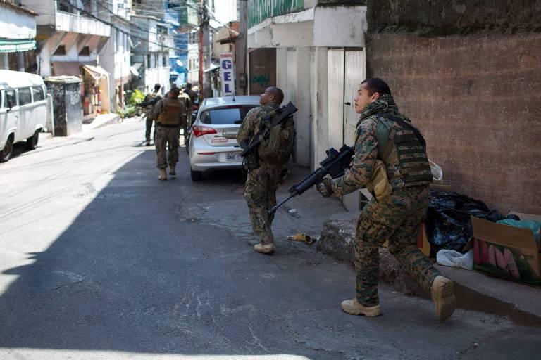 Violência na Rocinha