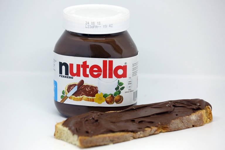 Os potes de Nutella tiveram um desconto de 70% e passaram a ser vendidos pelo valor de 1,40 euros (cerca de R$ 5,50)