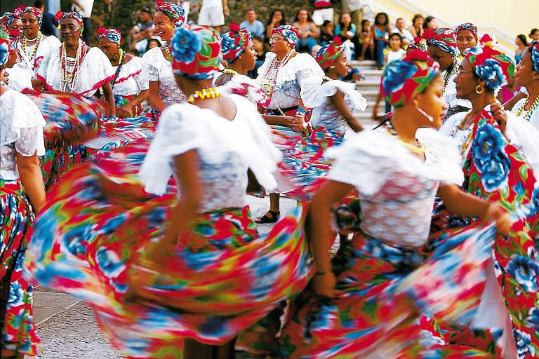 Viaja SP: Tambor de Crioula dita o ritmo carnavalesco de S�o Lu�s, no Maranh�o
