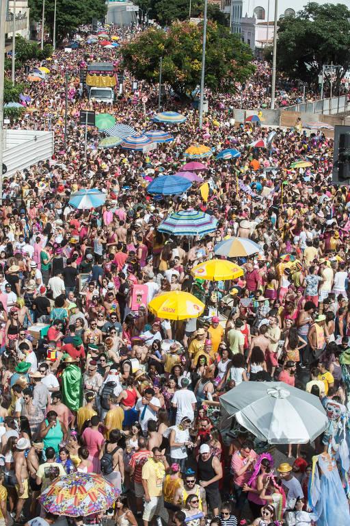 Viaja SP: com muito glitter, Belo Horizonte é destino recente de Carnaval