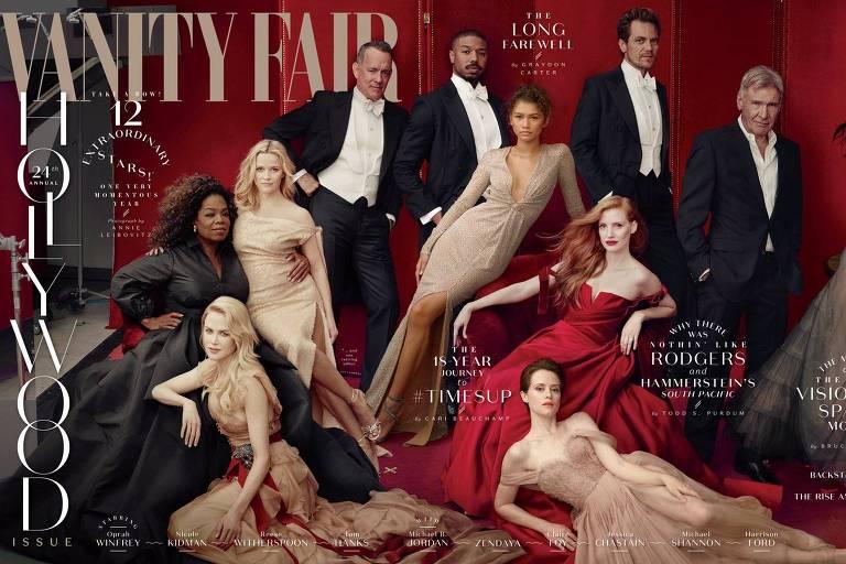 Capa da revista 'Vanity Fair', que removeu o ator James Franco