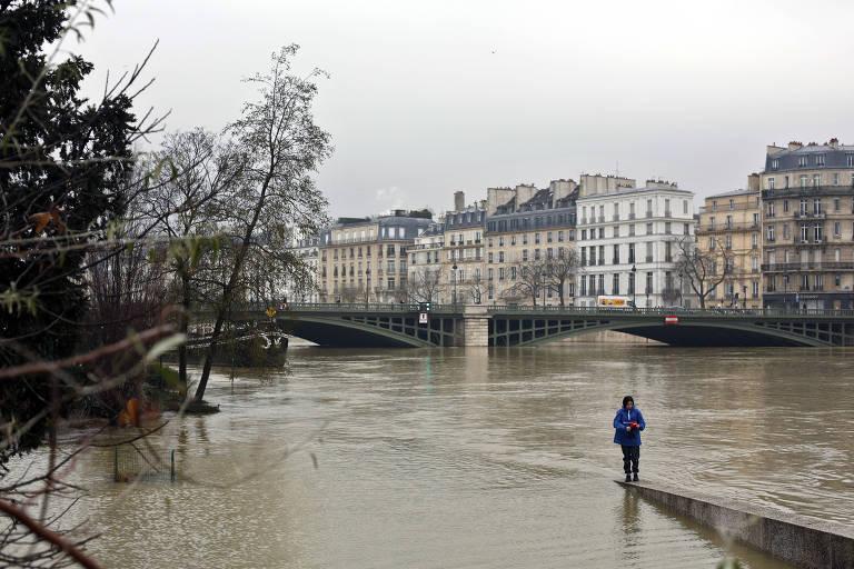 Inundação no Rio Sena