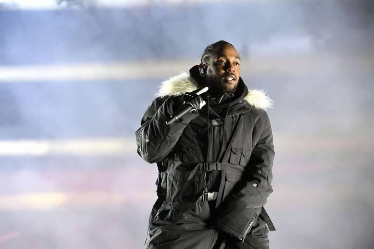 Kendrick Lamar, que tem sete indicações no Grammy