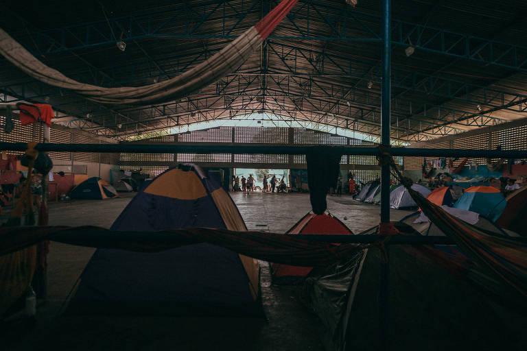 Venezuelanos em abrigo em Boa Vista, Roraima; cidade recebeu milhares de refugiados