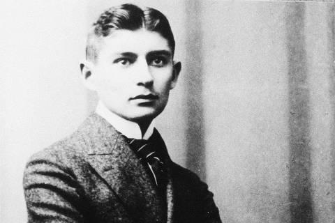 ORG XMIT: 110901_0.tif O escritor tcheco Franz Kafka.