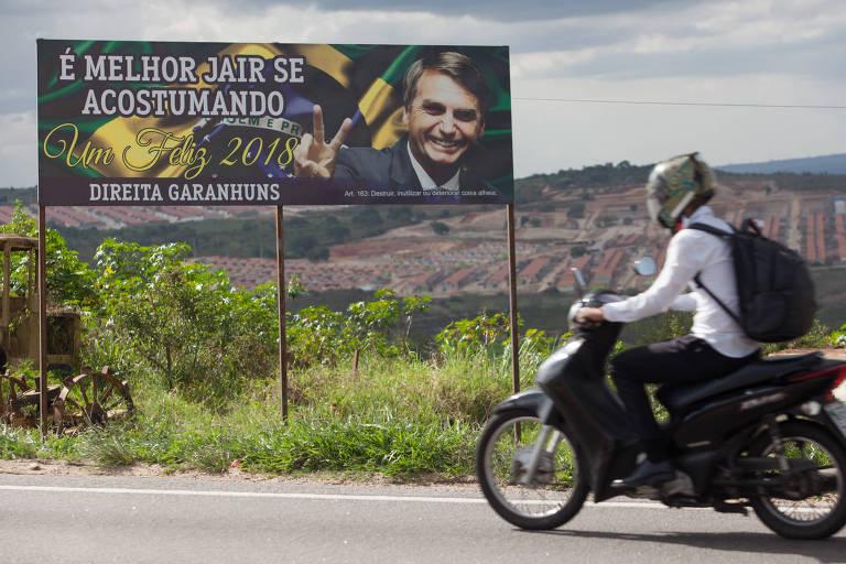 <strong>A campanha de Bolsonaro</strong>