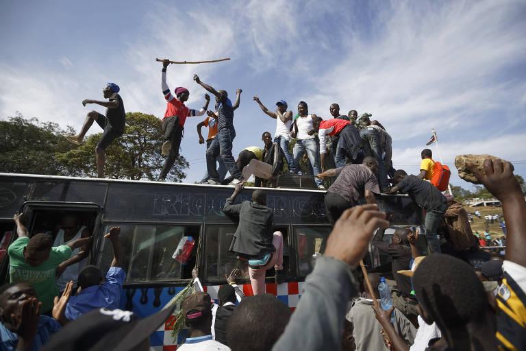 Manifestações no Quênia