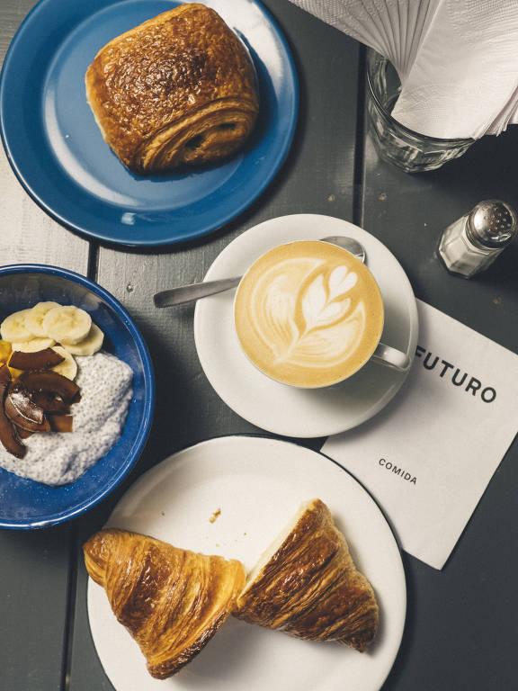 Café da manhã o dia todo