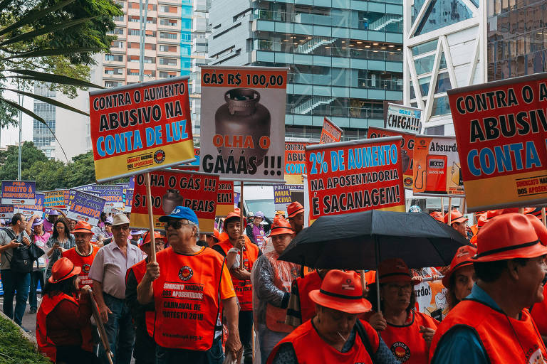 Carnaval contra a reforma da Previdência
