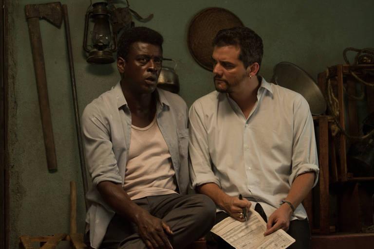 Bastidores do filme sobre Carlos Marighella