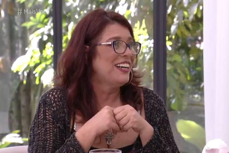 """Mara durante entrevista no """"Mais Você"""" (Globo)"""
