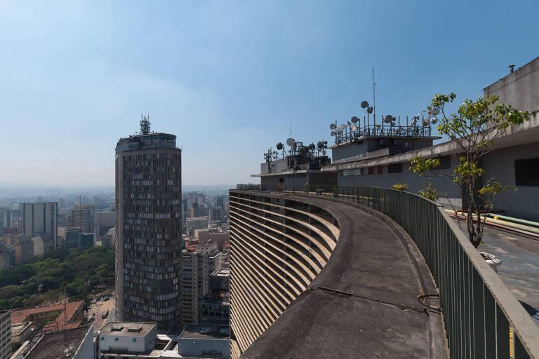 Terraço do edifício Copan, localizado na avenida Ipiranga