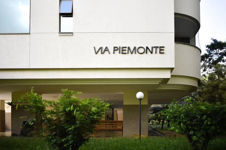 Fachada do prédio em que fica o apartamento do ministro do STJ  Humberto Martins, em Brasília