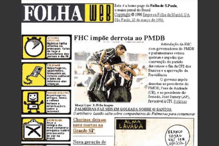 Reformas visuais da Folha