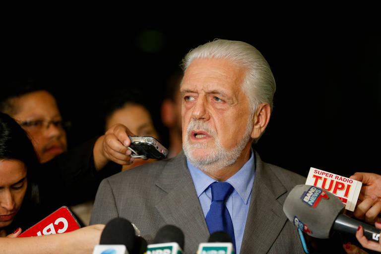 O ex-governador da Bahia Jaques Wagner (PT), cotado para substituir Lula nas eleições