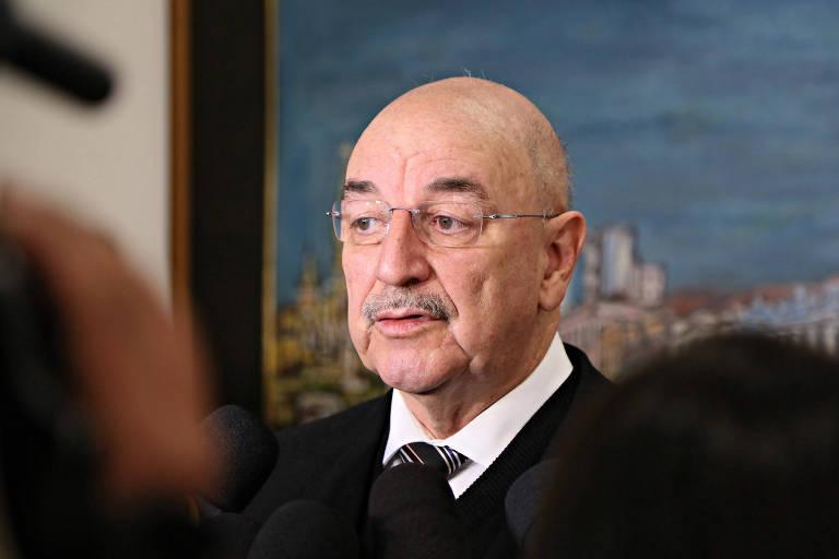 Foto do Ministro do Desenvolvimento Social e Agrário, Osmar Terra, conselheiro do Conad
