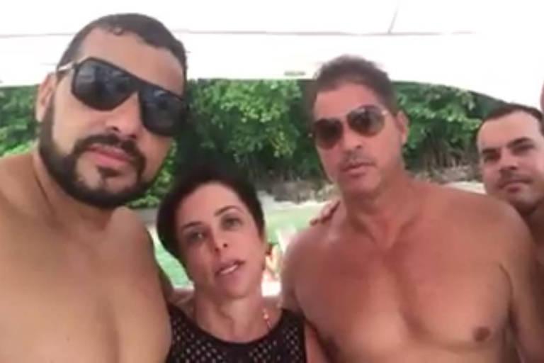 Cristiane Brasil grava vídeo em barco para se defender de condenações trabalhistas