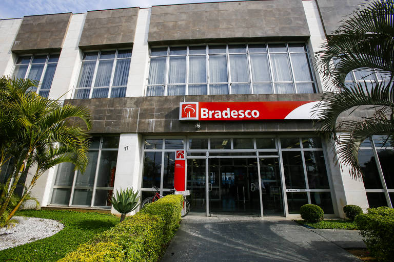 Agência do Bradesco na região central de São Paulo