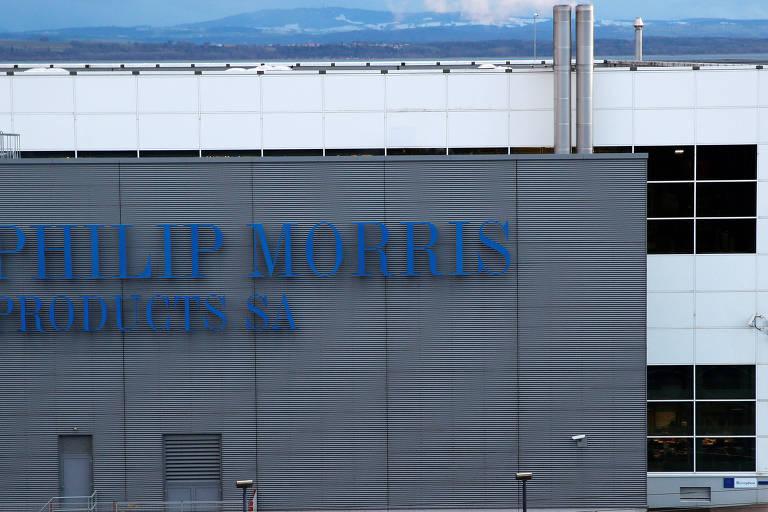 fábrica da Philip Morris na Suíça