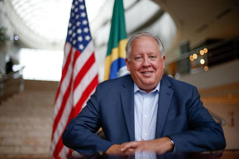 O ex-embaixador americano no Brasil Thomas Shannon