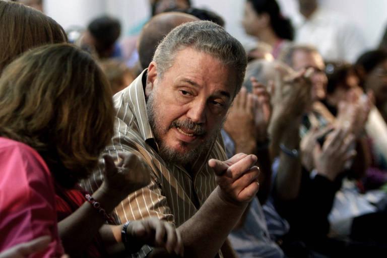 Fidel Castro Diaz-Balart, em foto de 2012; filho mais velho de Fidel Castro se suicida aos 68 anos