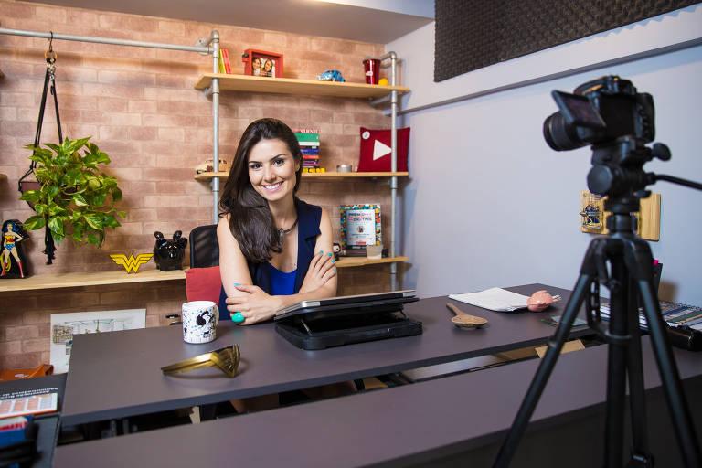 Nathalia Arcuri, 32, que faz o Me Poupe!, maior canal de informação financeira do mundo no YouTube