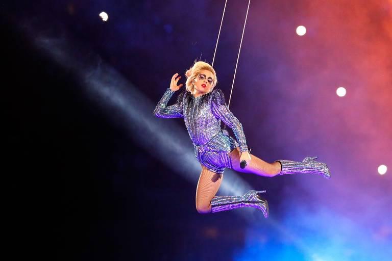 Lady Gaga no Super Bowl em 2017