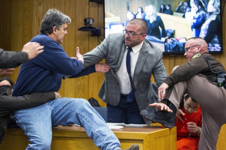 Pais de atletas atacam  Larry Nassar
