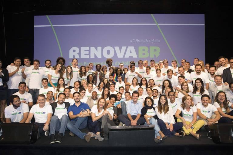 Selecionados para o curso político promovido pelo grupo RenovaBR