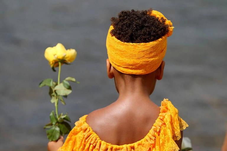 Comemorações do dia de Iemanjá
