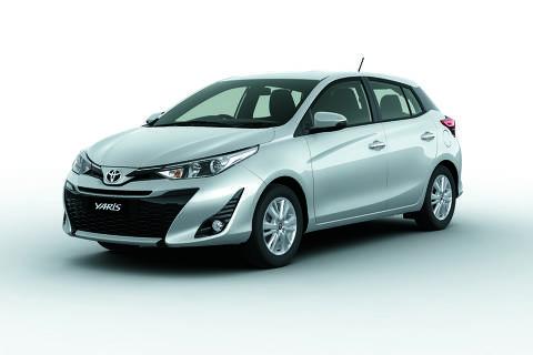 Toyota Yaris será produzido no Brasil a partir do segundo semestre de 2018
