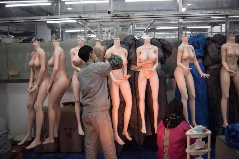 Bonecas sexuais na China