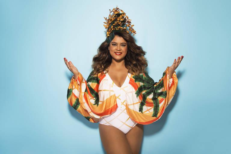 Preta Gil se prepara para Carnaval 2018