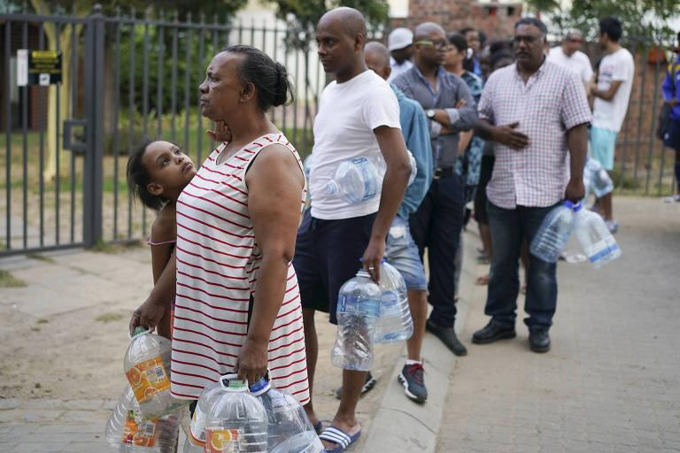 Cidade do Cabo sem água, em 2018