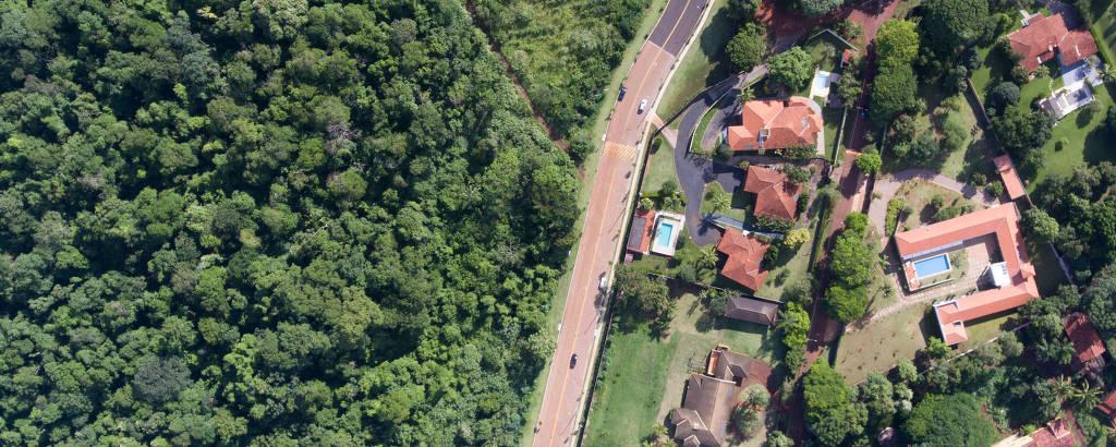 Condomínio próximo a área de mata em Ribeirão Preto (SP) onde já foi registrado caso de febre amarela