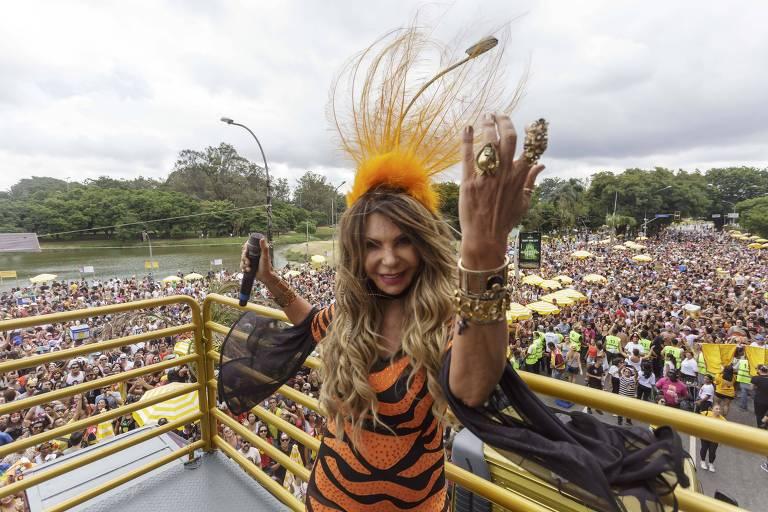 Cantora Elba Ramalho estreia no Carnaval paulistano