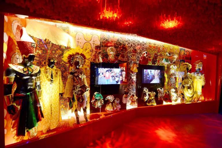 Sala da Casa do Carnaval, no centro histórico de Salvador