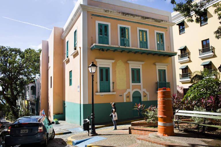 O antigo Museu da Criança, na Velha San Juan, capital de Porto Rico, foi uma das aquisições dos investidores da 'Puertopia'