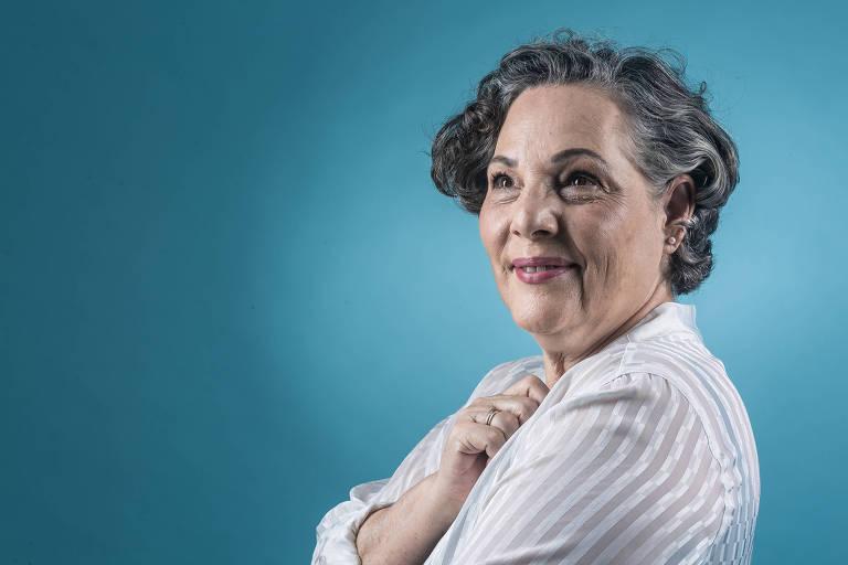 A aposentada Maria José Rosolino