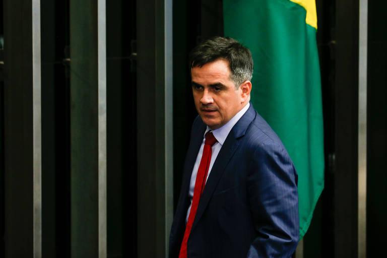O senador Ciro Nogueira (PP-PI) no plenário do Senado Federal