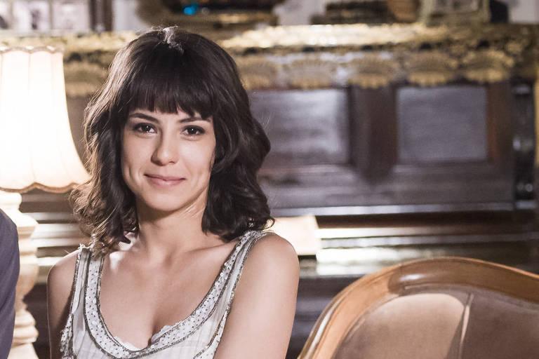 Andreia Horta interpreta Lucinda em 'Tempo de Amar'