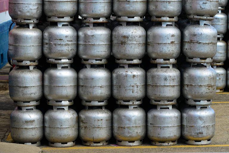 Gás envasado na Revap Petrobras