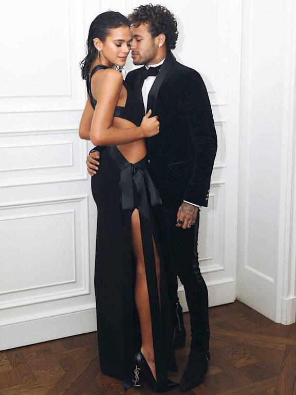 Neymar e Bruna Marquezine - Brumar